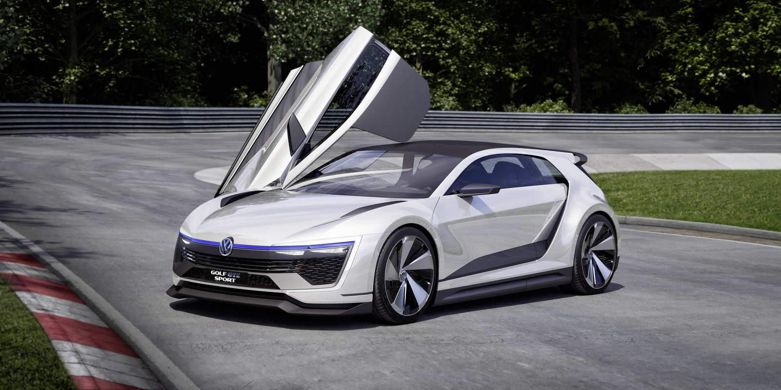 Sadly The Golf Gte Sport Concept Will Likely Remain Just That A But Don T Be Surprised Gti In Future To Ed By Hybrid Motor