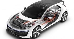 Volkswagen Golf GTE Sport Concept hybrid powertrain
