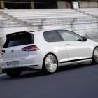 Volkswagen Golf GTI Clubsport rear quarter-3