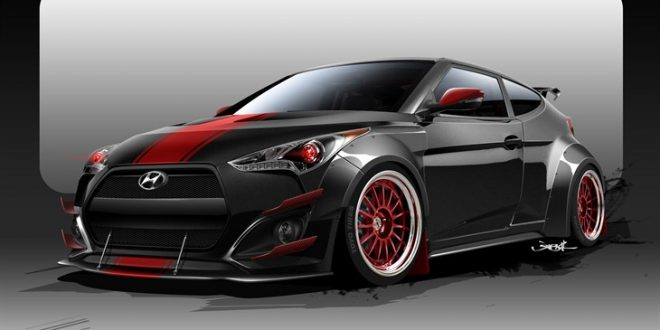 Hyundai Veloster Turbo R-Spec to make appearance at SEMA