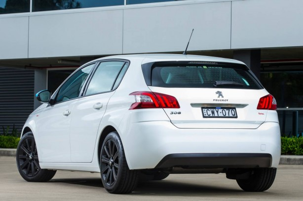 2015 Peugeot Total Package 308 rear quarter