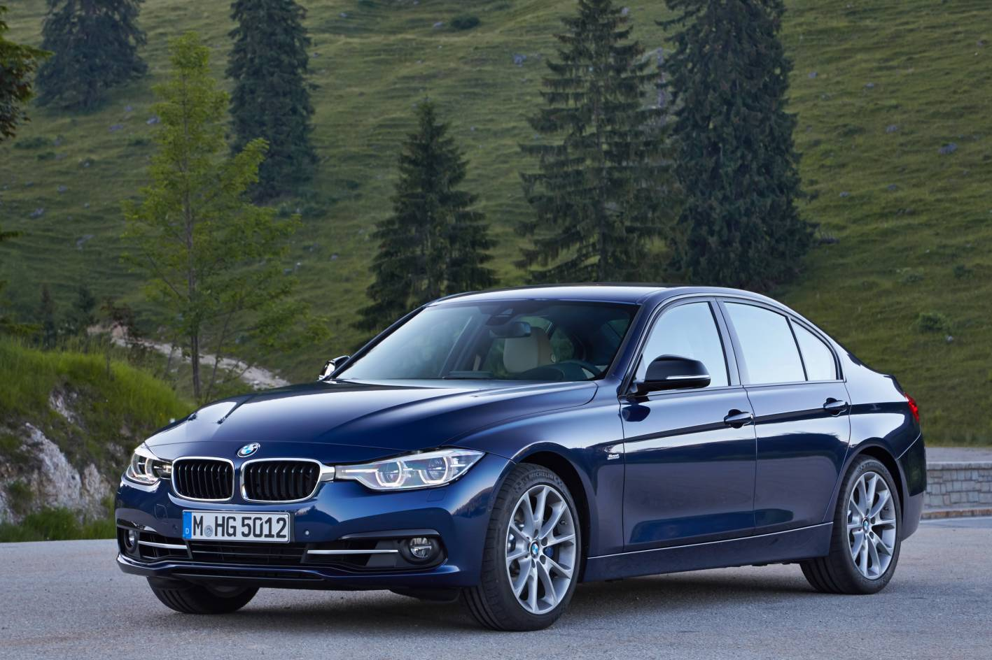 2016 Bmw 3 Series Facelift Front Quarter