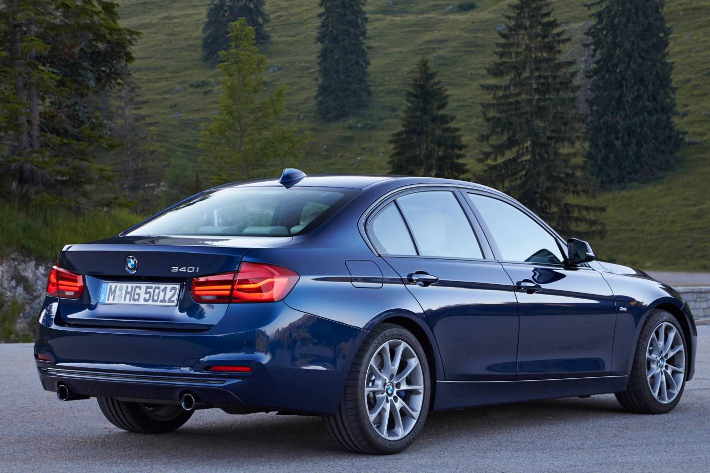 2016 Bmw 3 Series Facelift Rear Quarter