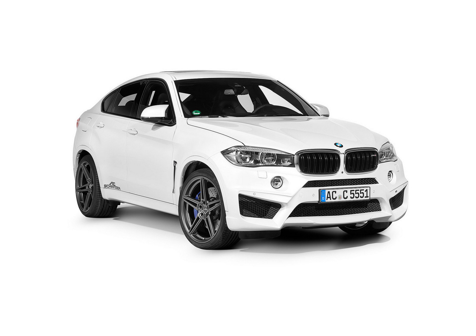 Ac Schnitzer Offering The Bmw X6 M With 471kw
