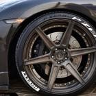 ADV 1 Carbon Gold Nissan GT-R 21-inch wheel
