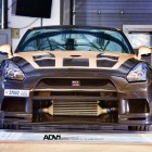 ADV 1 Carbon Gold Nissan GT-R front-1