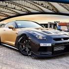 ADV 1 Carbon Gold Nissan GT-R front quarter