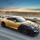 ADV 1 Carbon Gold Nissan GT-R front quarter-2