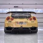 ADV 1 Carbon Gold Nissan GT-R rear-1