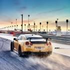 ADV 1 Carbon Gold Nissan GT-R rear