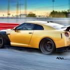 ADV 1 Carbon Gold Nissan GT-R rear quarter