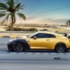 ADV 1 Carbon Gold Nissan GT-R side