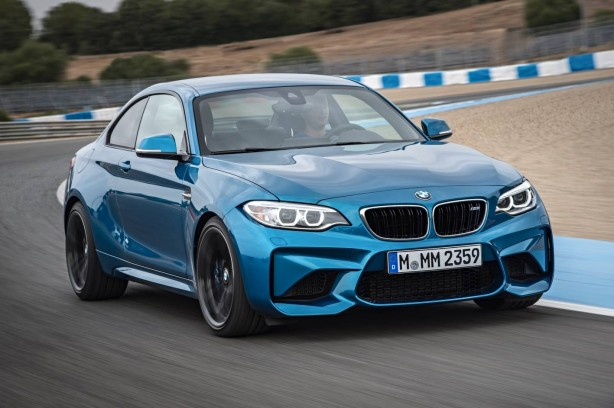 BMW M2 Coupe front quarter-1