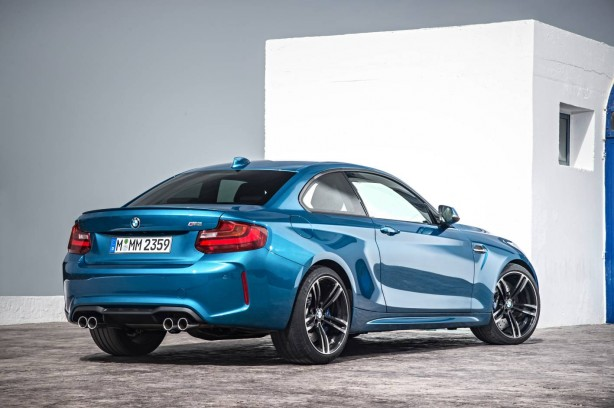 BMW M2 Coupe rear quarter
