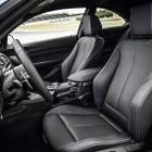 BMW M2 Coupe sports seats