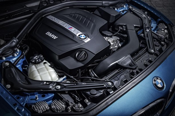 BMW M2 Coupe turbo engine