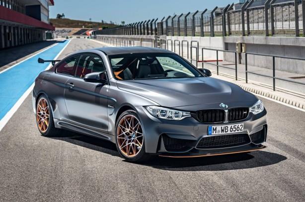 BMW M4 GTS front quarter