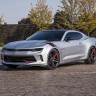 Chevrolet Camaro Red Line Series concept front quarter