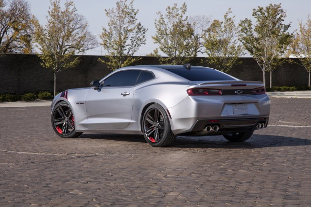 Chevrolet Camaro Red Line Series concept rear quarter