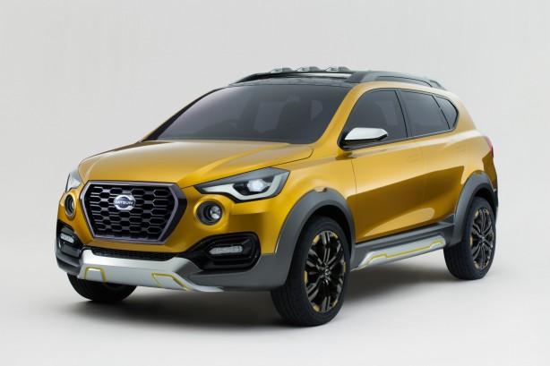 Datsun GO-cross Concept front quarter