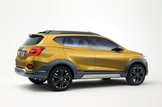 Datsun GO-cross Concept rear quarter