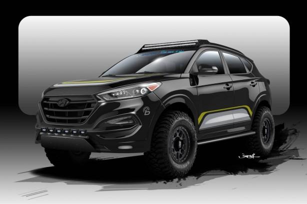 Hyundai Tuscon RPG