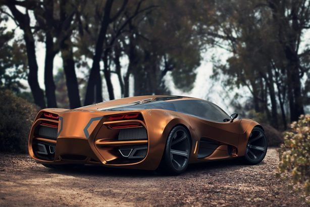 Lada Raven Concept The New Russian Supercar
