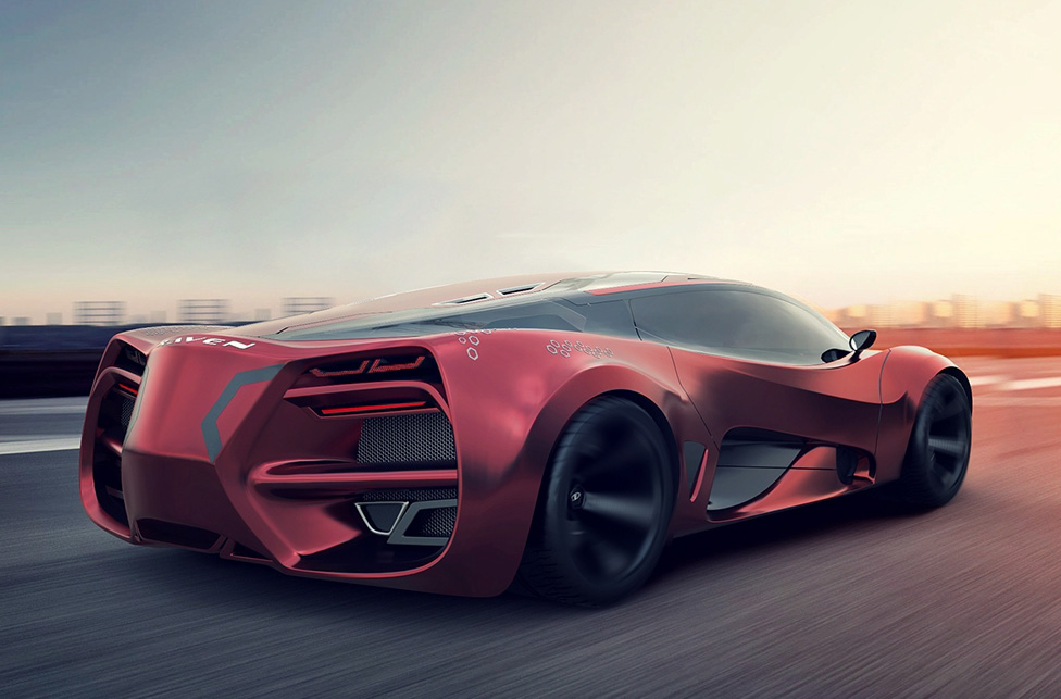 Lada Raven Concept The New Russian Supercar Forcegt Com