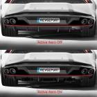 Lamborghini Huracan Spyder by RevoZport rear aero