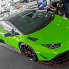 Lamborghini Huracan by RevoZport front quarter