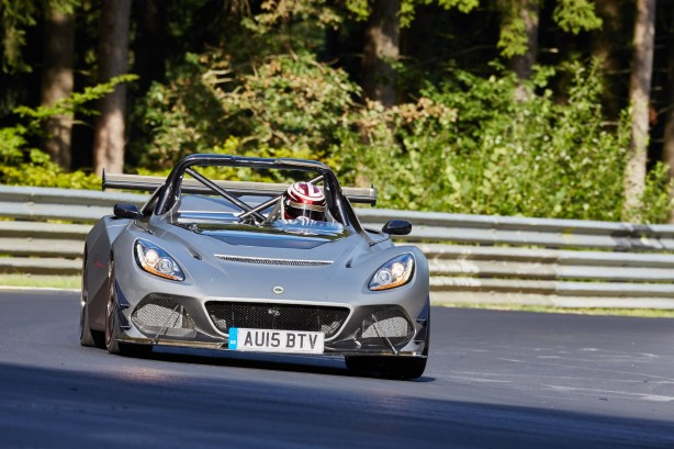 211/ Lotus Nuerburgring test. EUROPA, Germany, Nuerburg, Nuerburgring, Nordschleife, 26.08.2015 00:00:00: Copyright by Stefan Baldauf / SB-Medien