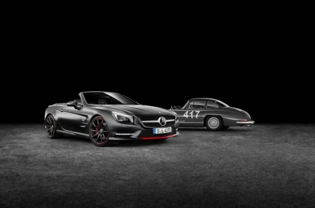 "Mercedes-Benz SL Special Edition ""Mille Miglia 417"" & 300 SL"