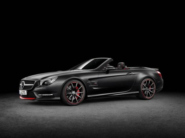 "Mercedes-Benz SL Special Edition ""Mille Miglia 417"" front quarter"