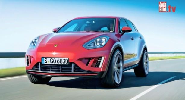 Porsche entry level SUV render