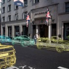 Range Rover Evoque Convertible wireframe sculptures