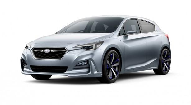 Subaru Impreza concept front quarter