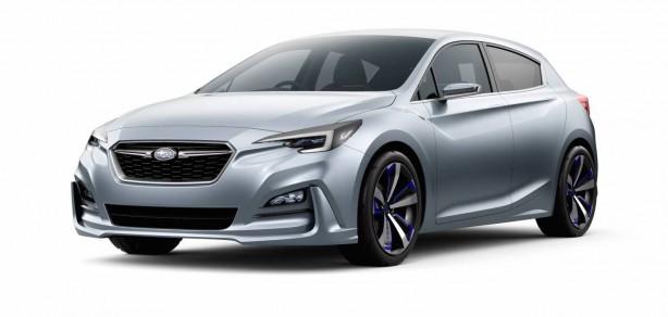 Subaru Impreza concept - main