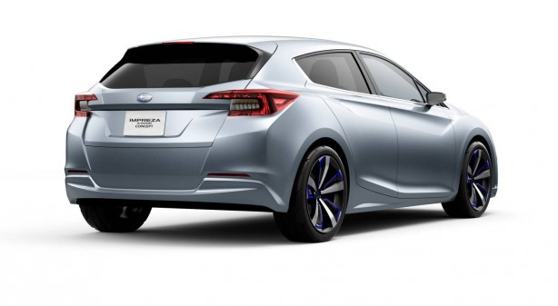 Subaru Impreza concept rear quarter