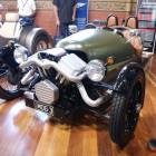 Morgan 3 Wheeler Front