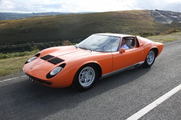 1968 Lamborghini Miura The Italian Job front-left
