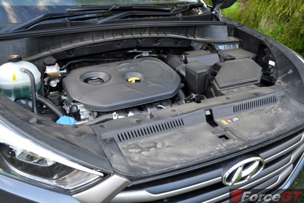 2015 Hyundai Tucson ActiveX engine