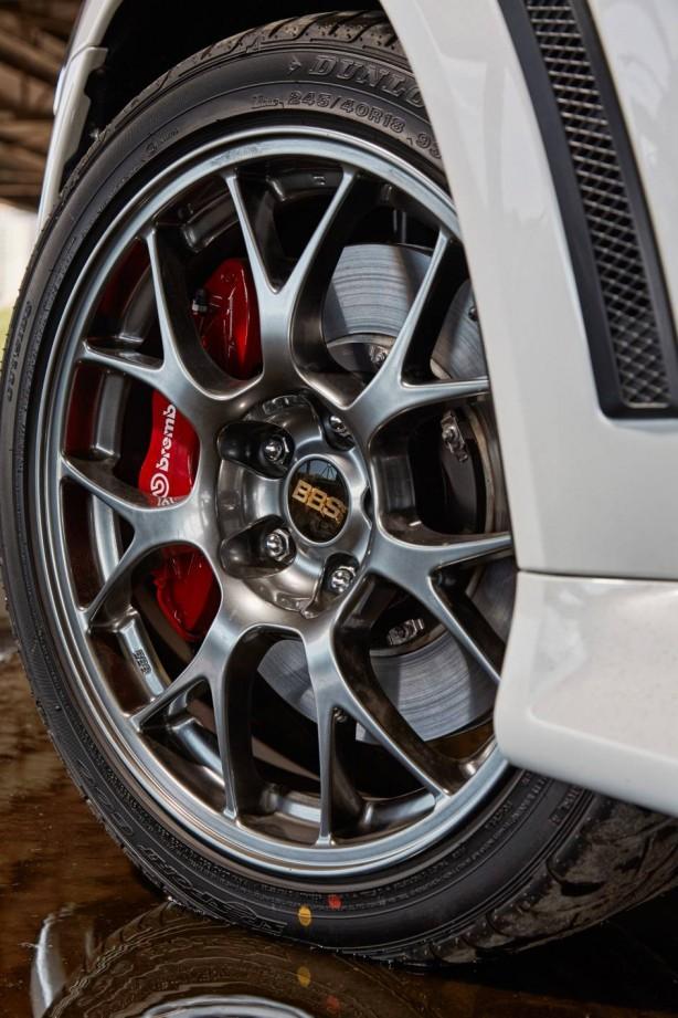 2015 Mitsubishi Lancer Evolution Final Edition BBS wheel