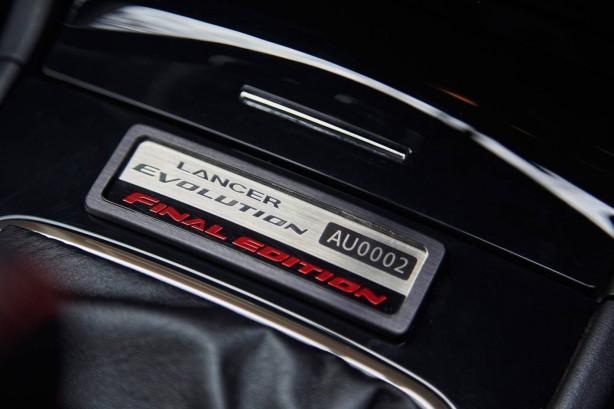 2015 Mitsubishi Lancer Evolution Final Edition built plague