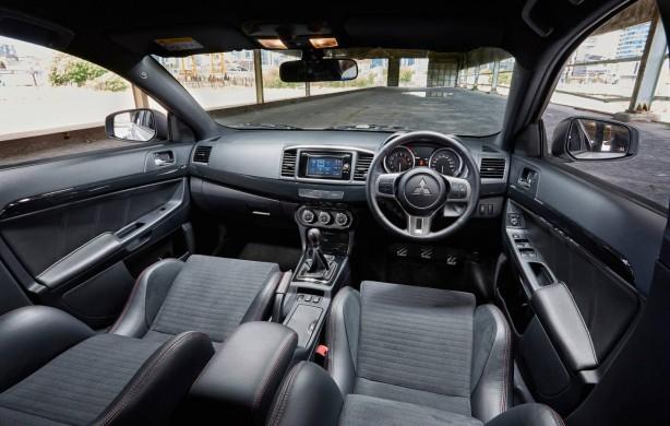 2015 Mitsubishi Lancer Evolution Final Edition interior