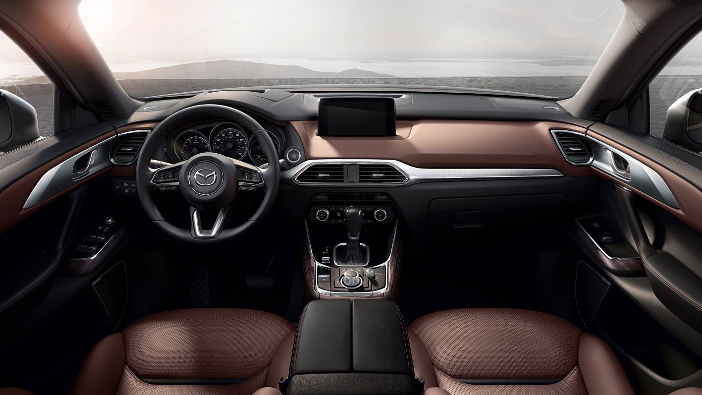 mazda cars news 2016 mazda cx 9 officially unveiled. Black Bedroom Furniture Sets. Home Design Ideas