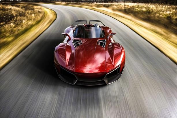 2016 Rezvani Beast X - Red Front