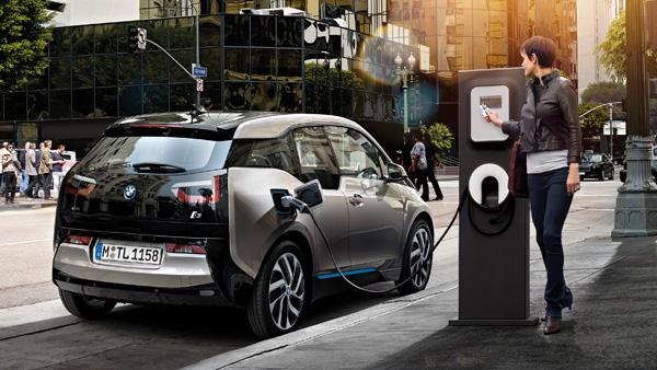 BMW i3 Public Charging
