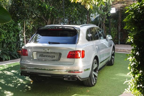 Bentley Bentayga First Edition rear