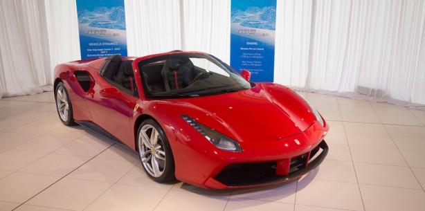 Ferrari 488 Spider Front