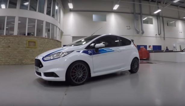 Ford Fiesta M-Sport Edition front quarter